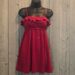Aeropostale Removable Spaghetti Straps Sundress